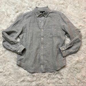 Banana Republic size medium linen slim fit shirt